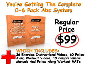 0-6 pack abs package